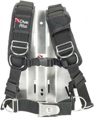 Dive Rite Transplate with S/S Backplate for Tech Scuba Divers - Medium