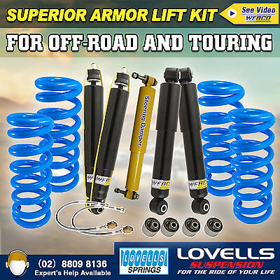 "2""50mm Suspension Lift Kit Toyota Landcruiser 80 100 Series 4WD 89-08 HD Armor 4"