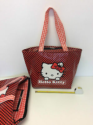 Borsa Hello Kitty Xxl Shopper Shopping Bag Sacca Spiaggia Mare Ombrellone Estate