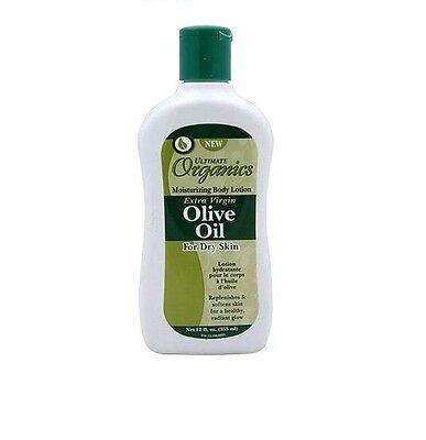 Ultimate Organics Extra Virgin Olive Oil body Lotion For Dry Skin 355ml