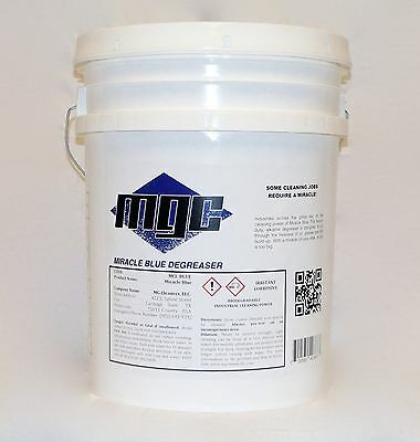Miracle Blue Heavy-Duty Industrial Degreaser (5 Gal)