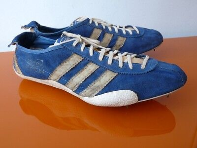 Orig. Vintage Adidas SPIKES Tokyo 64 Laufschuhe Sprinter Trainers very rare