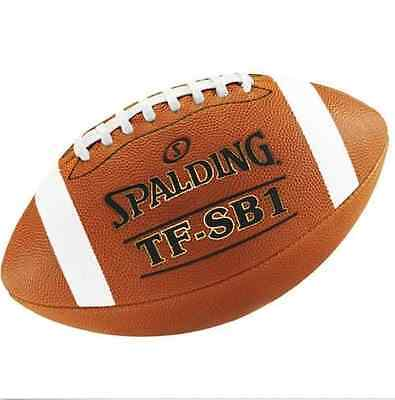 Spalding Football TF SB1 Spiral Balance Full Size Leather NFHS Approved