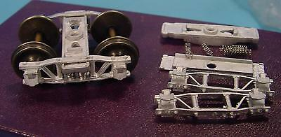 On30 WISEMAN MODEL SERVICES #WMFT2 D&RGW/F&CC 4' SPRUNG ARCH BAR FREIGHT TRUCKS