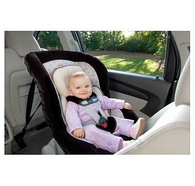 NEW Britax Head and Body Support Pillow, Iron/Gray Reversible Design Adjustable