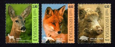 Croatia 2015 Fauna Set 3 MNH