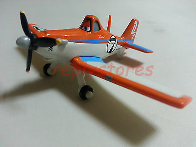 Mattel Disney Pixar Planes No.7 Dusty Crophopper Metal Diecast Toy Loose New