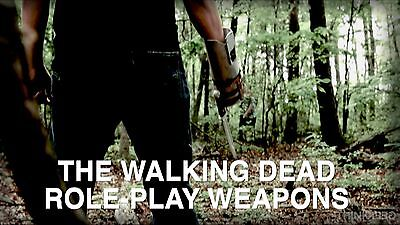 The Walking Dead Role Play Weapons Props Katana, Crossbow and Knife-Hand