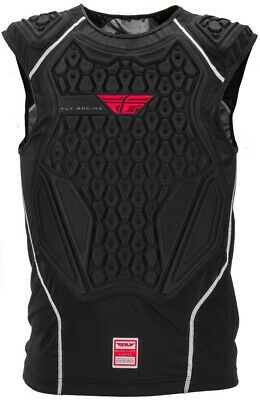 Thor Racing Adult Comp Black Chest Roost Protector Under-Jersey Large/XL
