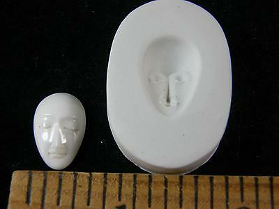 Small Goddess Face Polymer Clay Mold (#MD1481)