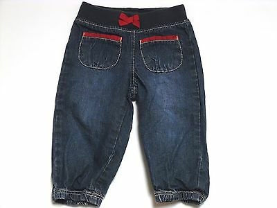 NWT Baby GAP Pull-On Jeans Denim Soft Waistband Dark Wash Pants Toddler 1969