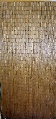 Deluxe Handmade Bamboo Door Curtain NATURAL Room Divider New Strands