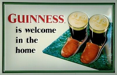 GUINNESS TOLL BRIDGE Vintage Metal Pub Sign3D Embossed SteelHome Bar Irish