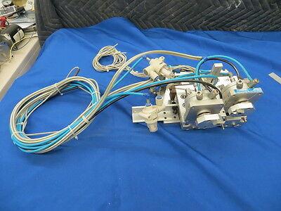 Festo DSM-12-270-P-FW Pneumatic Rotary Actuator (2) With Slides (2) Assembly