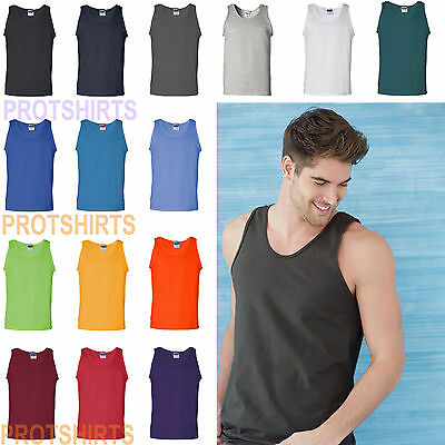 Gildan - Ultra Cotton™ Mens Tank Top S-3XL sizes - 2200