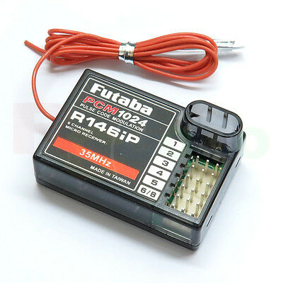 Futaba R146iP 35MHz 6-channel PCM Receiver w/o Crystal