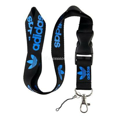 Adidas Lanyard Strap Badge ID Running Cell Holder Detachable Keychain iPod Camer