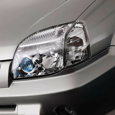 New Genuine Nissan X-Trail T30 Front Headlamp Head Light Protectors Covers