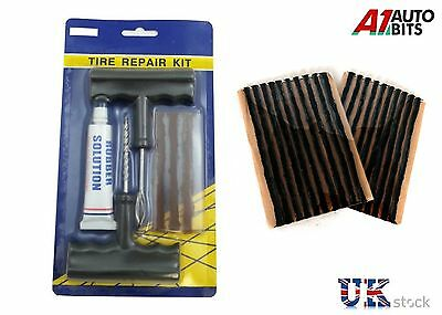 CAR VAN TYRE TIRE PUNCTURE REPAIR KIT WITH 23 STRIPS NEW High Quality
