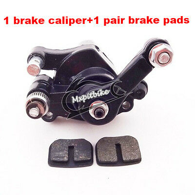 ATV Front Disc Brake Caliper Pads 47cc 49cc Mini Moto Dirt Pocket Bike Scooter
