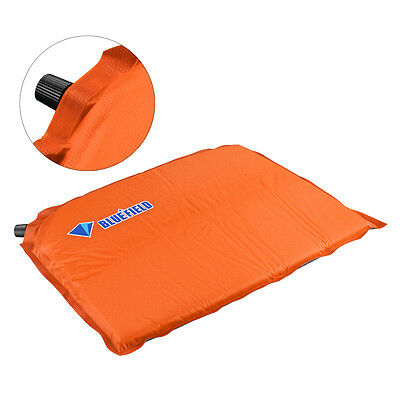 Self Inflatable Cushion Seat  Pad for Camping Travel Hiking Outdoor Sport Black