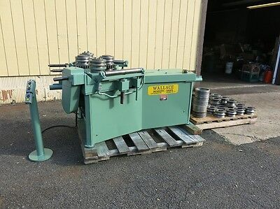 Wallace Model 462 Heavy Pipe Bender with Dies to 4""