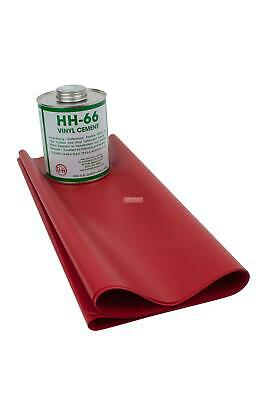 18oz Tarp Vinyl Repair Kit HH66 (Red)