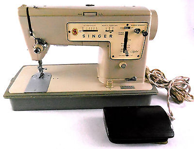 Singer touch amp sew zig zag model 758 sewing machine with accessories