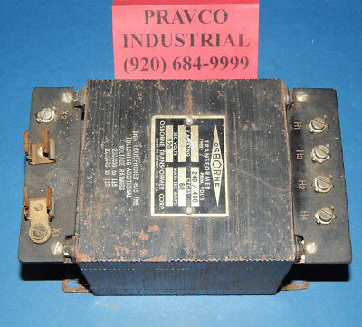 Osborne 10343TF Transformer 500VA 0.5kVA 240/480Volt Primary 120Volt Secondary