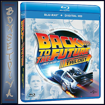 Back To The Future Trilogy - 30Th Anniversary **brand New Blu-Ray Region Free*