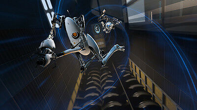 """Portal 2 Hot Game Wall Poster 18/""""x13/""""  P004"""
