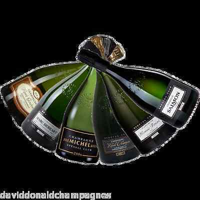 Fine French Mixed Champagne Special Club 'Differing Shades' Selection (6 Pack)