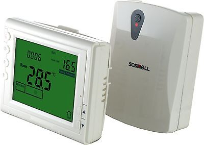 LCD WIFI Smart Enabled App Control Thermostat for Electric/Water/Boiler Heating