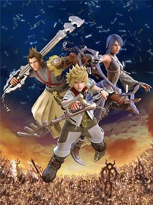 "Kingdom Hearts 2 Boy Game Wall Poster 30/""x24/"" K031"
