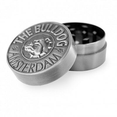 Tritatabacco The Bulldog Grinder Metallo 2 Parti