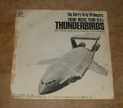 THE BARRY GRAY ORCHESTRA thunderbirds*parker - well done 1965 UK PYE PS 45