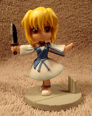 """Collectible Japanese Anime 2 3/4"""" Figure - Girl Walking with Knife"""