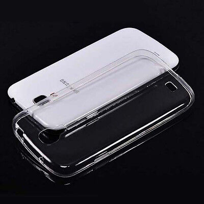 2xUltra Thin Clear Gel skin case cover For Samsung Galaxy S4 i9500