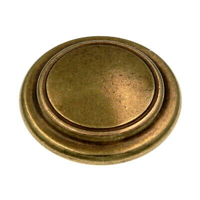 "Brass Base English Cozy Hickory P409-LP White 1 1//4/"" Ceramic Cabinet Knob Pull"