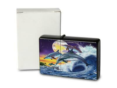 Retro Style Petrol Lighter Dolphin Wartime Style Modern With Bottle Opener