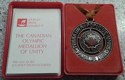 Olympia - The Canadian Olympic Medallion of Unity - Original - (50)