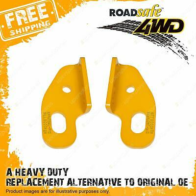 Pair Roadsafe Heavy Duty Recovery Tow Points For Landcruiser 80/100/105 Series