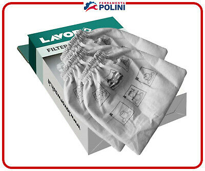 LAVOR KIT FILTRI IN PANNO X ASPIRACENERE 3pz. 5.212.0091 RIU - ASHLEY200-310-900