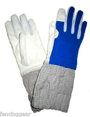 Electric sabre Fencing glove with conductive cuff Right handed Medium size