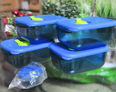 tupperware one touch topper set of 4 1 colour 650 ml brand new free shipping