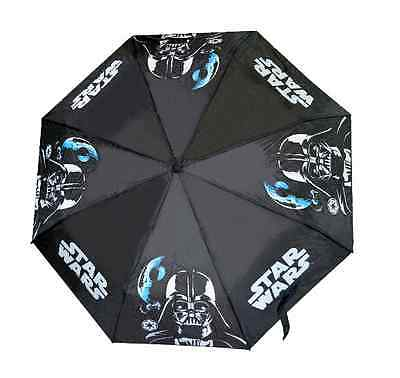 Ombrello Mini Richiudibile Star Wars 2 D90351 It's Raining Kids Pioggia Bimbo