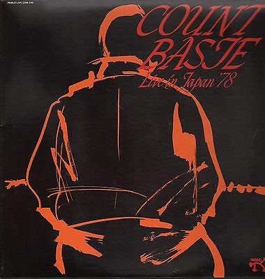 LP - Count Basie - Live In Japan 78