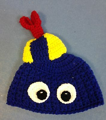 Kamikaze KNITTED Hat - Childs - Designer Hats Ltd edition - BLUE FACE (017)