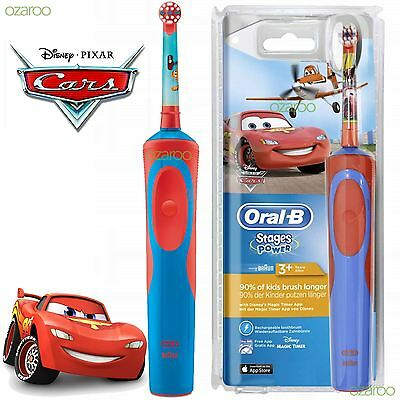 Oral-B Stages Vitality Disney CARS Electric Rechargeable Kid Toothbrush EU MODEL