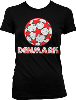 b75df26c9 DENMARK DANISH DANMARK Flag Heart Football Soccer Love New Men s T ...